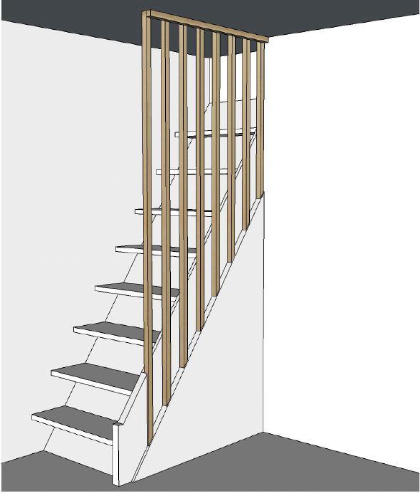 Claustra d'escalier - Elahé Déco - Lille, hauts de france