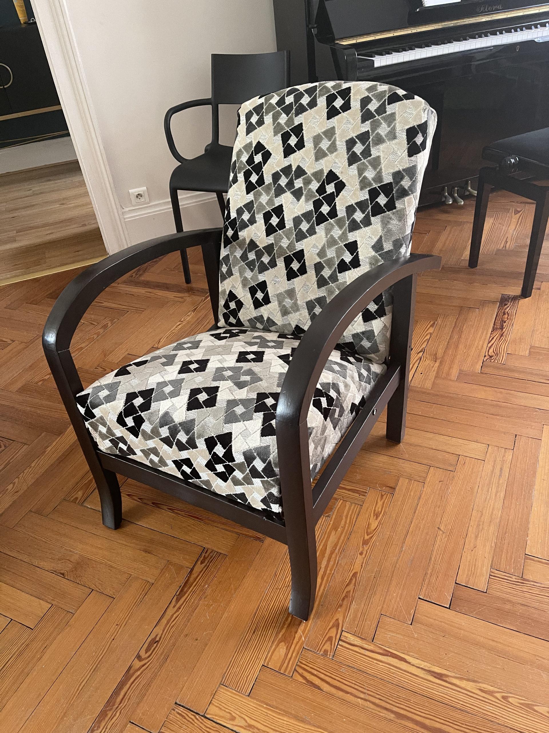 Fauteuil relax - après - rénovation par Elahé Déco