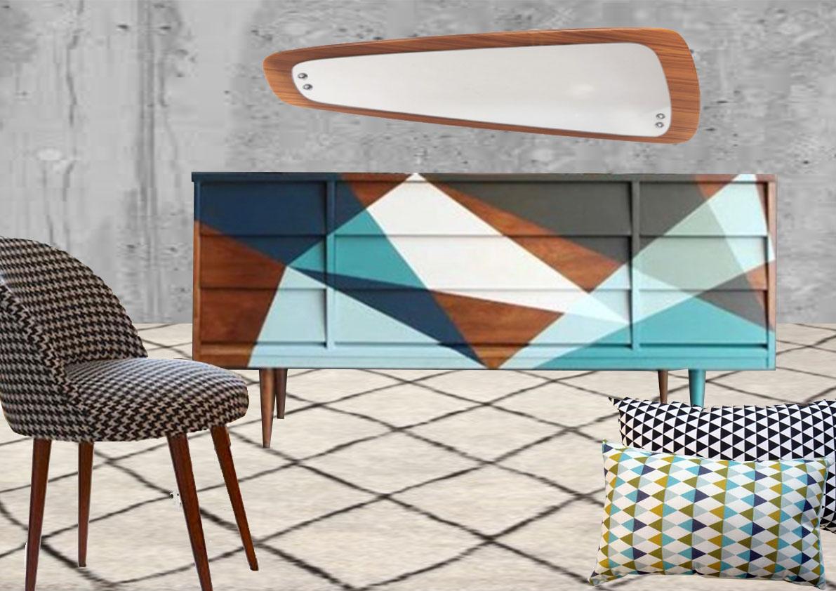 Rénovation,repeindre les meubles est une façon simple de donner un coup de jeune à un intérieur