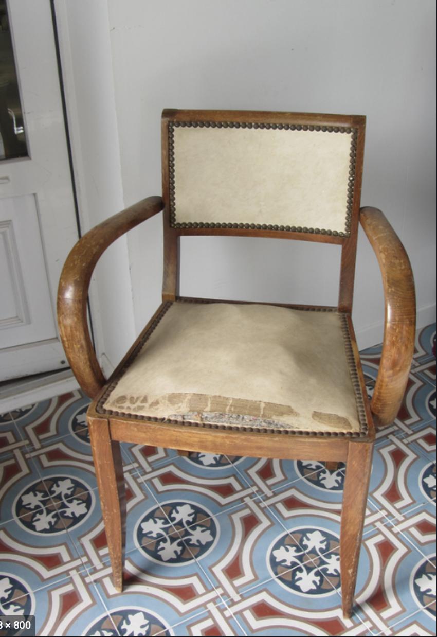fauteuil de bridge rénové Elahe deco haut de France Lille