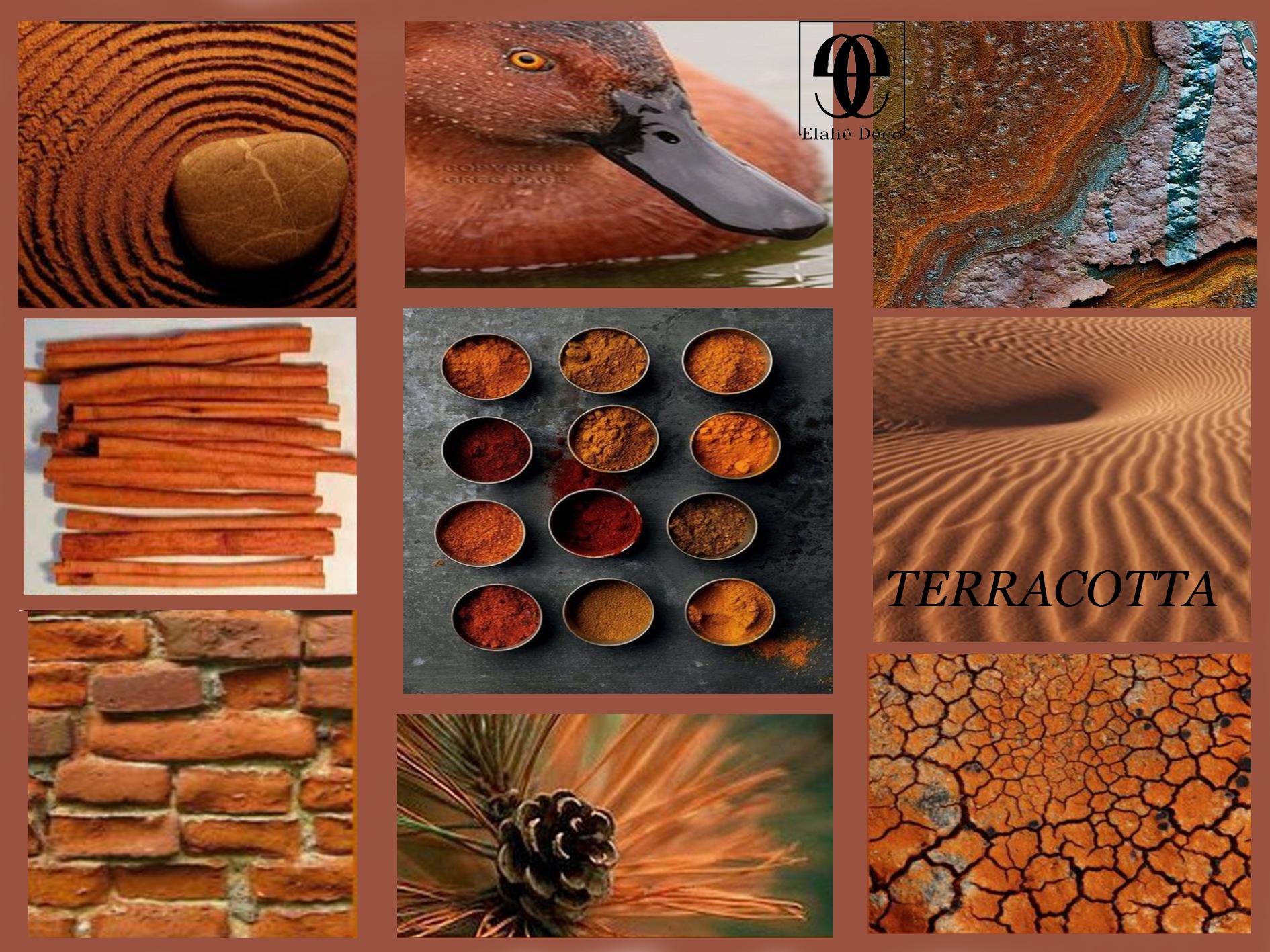 couleur terracotta Elahé deco lille haut de France
